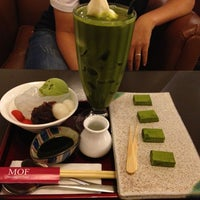 Photo taken at MOF Japanese Sweets & Coffee by Cafecafe D. on 7/26/2013