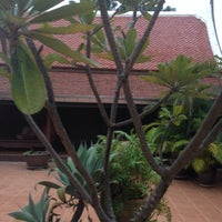 Photo taken at Baan Thai House Homestay by Mummy S. on 12/13/2014