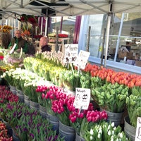 Photo taken at Columbia Road Flower Market by Erika A. on 4/28/2013