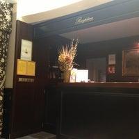 Photo taken at Antik City Hotel Prague by Natalia C. on 3/8/2013