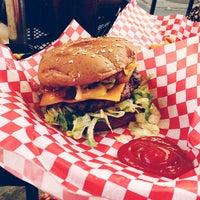 Photo taken at Jake's Burgers & Billiards by Jordan W. on 3/2/2013