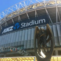 Photo taken at ANZ Stadium by Christi L. on 9/30/2012