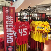 Photo taken at Liverpool FC Official Club Store by Alexi K. on 8/28/2014