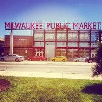 Photo taken at Milwaukee Public Market by Amanda W. on 6/7/2013