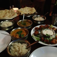 Photo taken at Seva Indian Cuisine by Kathy A. on 1/14/2013