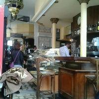 Photo taken at Cafetería Lisboa by Carmen R. on 5/18/2013
