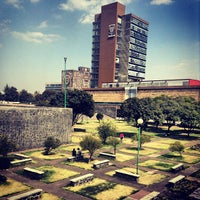 Photo taken at Universidad Nacional Autonoma de Mexico by Marielle M. on 1/28/2013