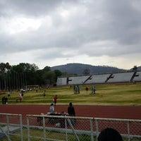 Photo taken at Estadio Wilfrido Massieu by Mariana R. on 2/16/2013