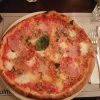Photo taken at Margherita Pizzeria by Tunca G. on 3/21/2015