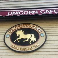 Photo taken at Unicorn Café by Veronica D. on 10/15/2012