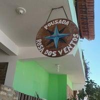 Photo taken at Pousada Rosa Dos Ventos by André M. on 9/23/2013