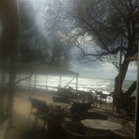 Photo taken at Anemos Beach Bar by Chris B. on 2/23/2013
