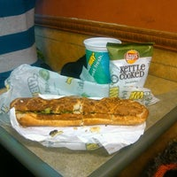Photo taken at Subway by Victor N. on 1/14/2014