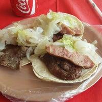 Photo taken at Tacos El Tapatío by Carlos B. on 5/20/2016