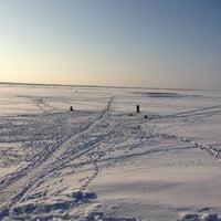 Снимок сделан в Набережная залива Параниха пользователем Oleg A. 2/16/2013