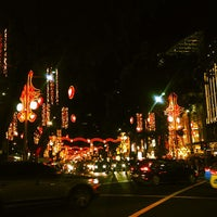 Photo taken at Orchard Road by lydia s. on 12/15/2012