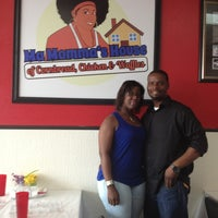 Photo taken at Ma Momma's House of Cornbread, Chicken & Waffles by Rodney S. on 4/7/2013