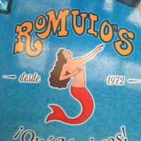 Photo taken at Mariscos Romulos by Vianey M. on 3/2/2013