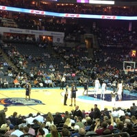 Photo taken at Time Warner Cable Arena by Caroline M. on 1/16/2013