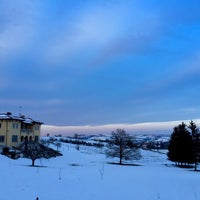 Photo taken at Serralunga Di Crea by Daniele M. on 2/8/2015