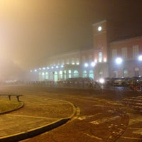 Photo taken at Stazione Vercelli by Daniele M. on 1/13/2014