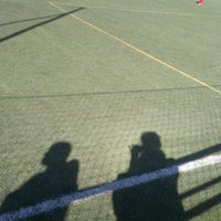 Photo taken at Olimpica Victoriana Club de Futbol by Ross F. on 1/12/2013