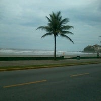 Photo taken at Praia do Sonho by Flavia C. on 2/8/2013