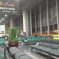 Photo taken at Macau International Airport (MFM) by Frem L. on 9/25/2012