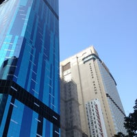 Photo taken at Harbour Grand Hong Kong by Larisa T. on 1/7/2013