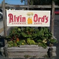 Photo taken at Alvin Ord's Sandwich Shop by Ashley G. on 1/12/2013