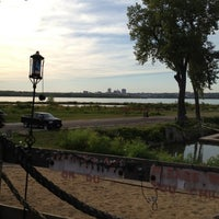 Photo taken at Burger Barge by Jenny H. on 9/15/2012