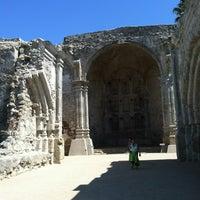 Photo taken at Mission San Juan Capistrano by Jim L. on 7/7/2013