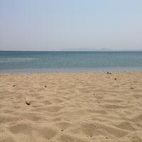 Photo taken at Sanz Beach by Barış K. on 7/31/2013