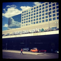 Photo taken at Barcelona Sants Railway Station by Евгений Ф. on 6/20/2013