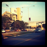 Photo taken at Kyle Field Zone Plaza by WhatUpWally? on 9/11/2013
