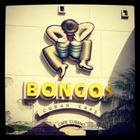 Photo taken at Bongo's Cuban Cafe by Donny F. on 1/8/2013