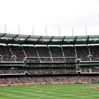 Photo taken at MCG by Melbourne Cricket Ground (MCG) on 10/13/2013