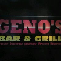 Photo taken at Geno's Bar & Grill by Ashley L. on 1/17/2013