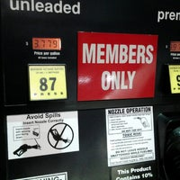 Photo taken at Costco Gas by Frank H. on 11/9/2012