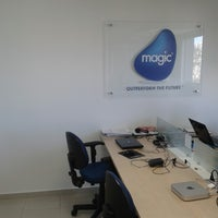 Photo taken at Magic Software Brasil by Manoel Frederico S. on 9/27/2013