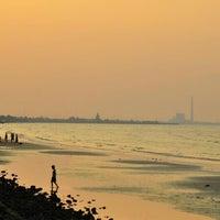 Photo taken at Wisata Pantai Boom Tuban by Lulus A. on 5/9/2014