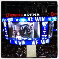 Photo taken at Rogers Arena by Edward B. on 3/29/2013