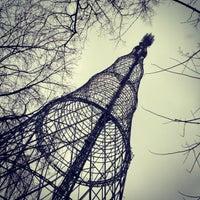 Photo taken at Шуховская башня by Yulia M. on 3/19/2013