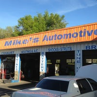 Photo taken at Mike's Automotive Center by Cop L. on 3/13/2013