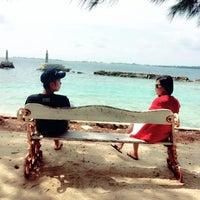Photo taken at Pulau Pramuka by Embun P. on 3/14/2016