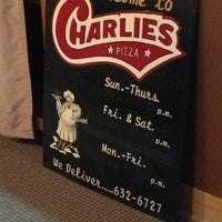 Photo taken at Charlie's Pizza by Terra O. on 2/5/2013