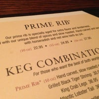 Photo taken at The Keg Steakhouse + Bar by Icko on 3/2/2013
