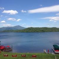 Photo taken at Lake Placid Lodge by Patricia L. on 7/6/2014