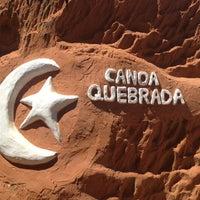 Photo taken at Praia de Canoa Quebrada by Marcelo Guimaraes on 10/27/2012