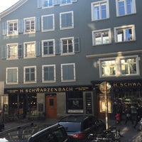Photo taken at Teecafé Schwarzenbach by graceygoo on 10/21/2015